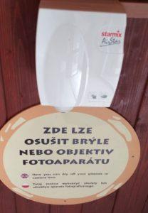 suszarka do okularów ZOO Ostrava