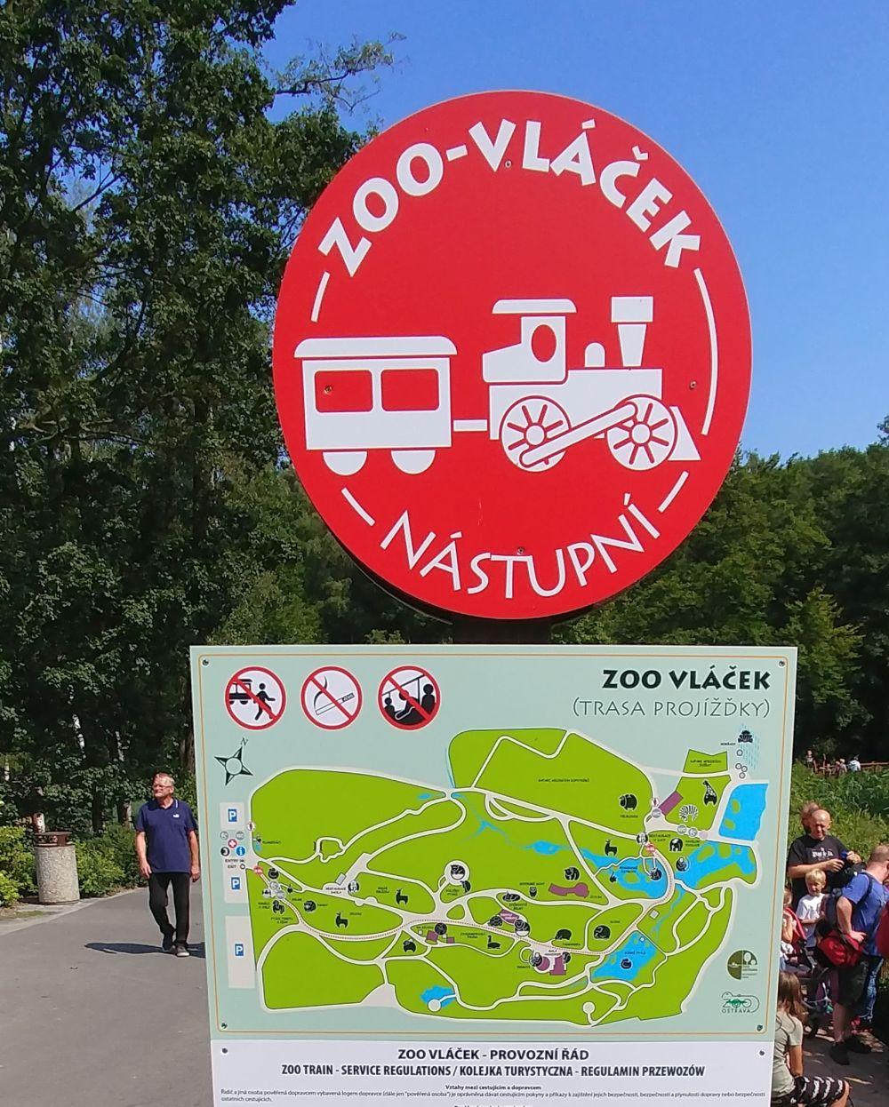 Zoo vlacek ZOO Ostrava