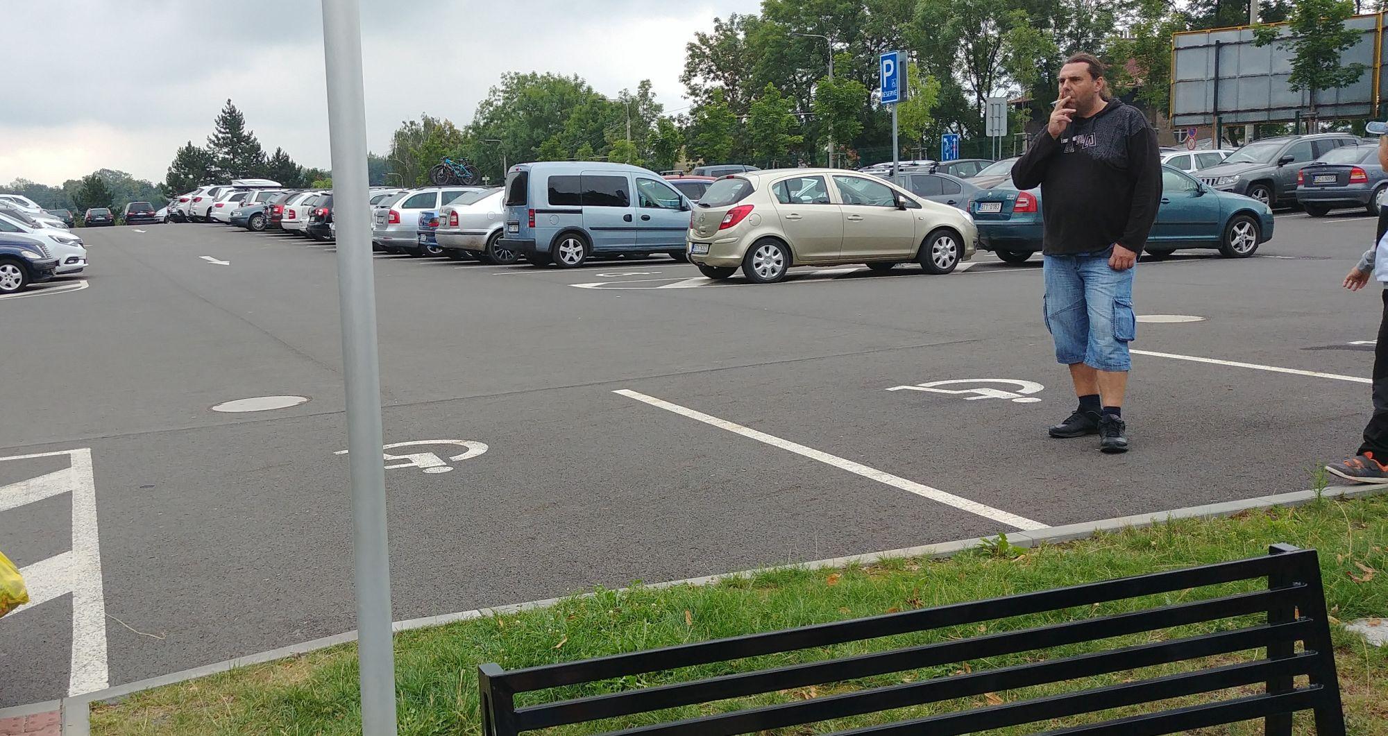 parking niepełnosprawni ZOO Ostrava