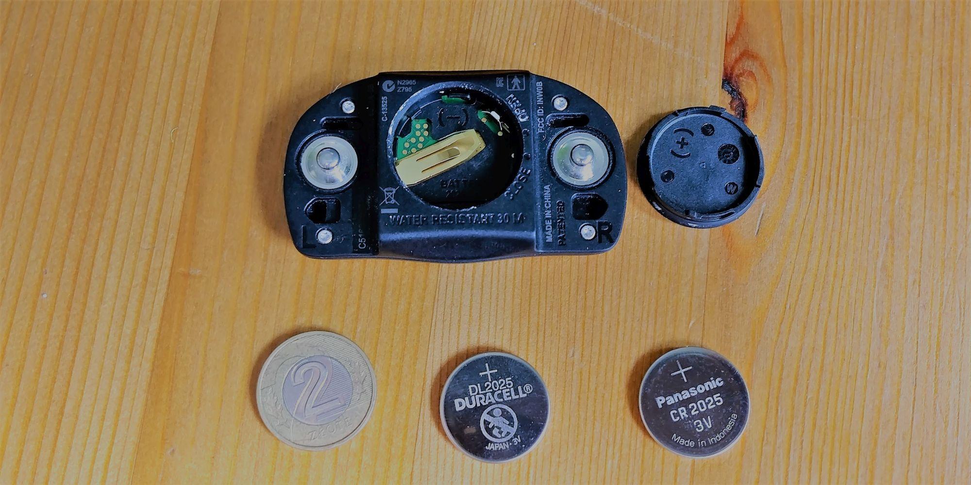 Wymiana baterii Polar H7