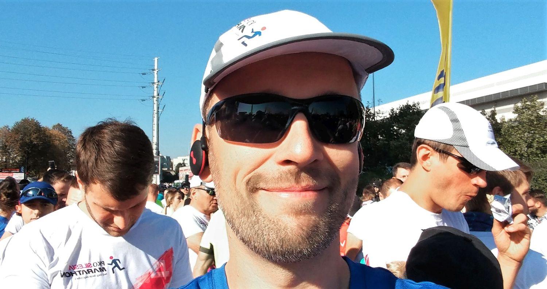 PKO Silesia Półmaraton 2017 selfie przed startem