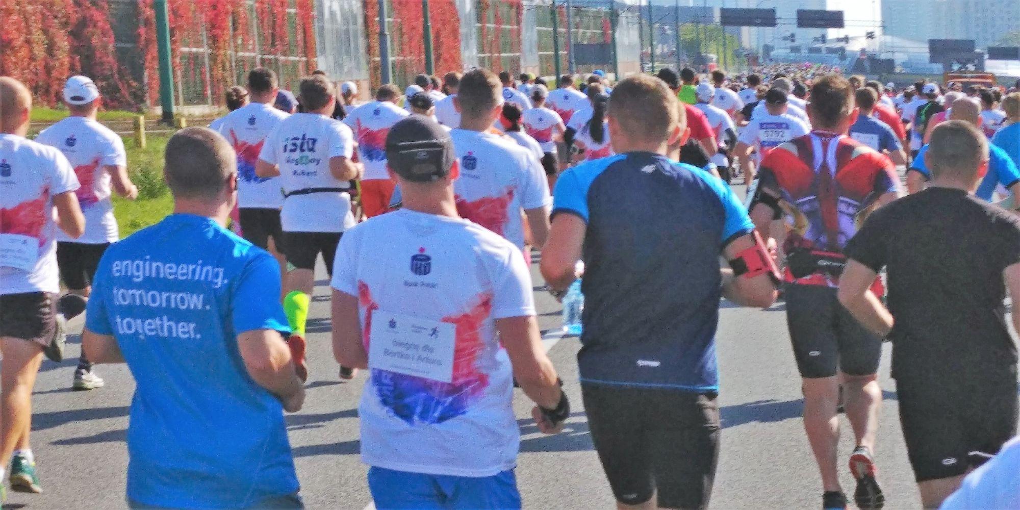 PKO Silesia Półmaraton 2017 w biegu