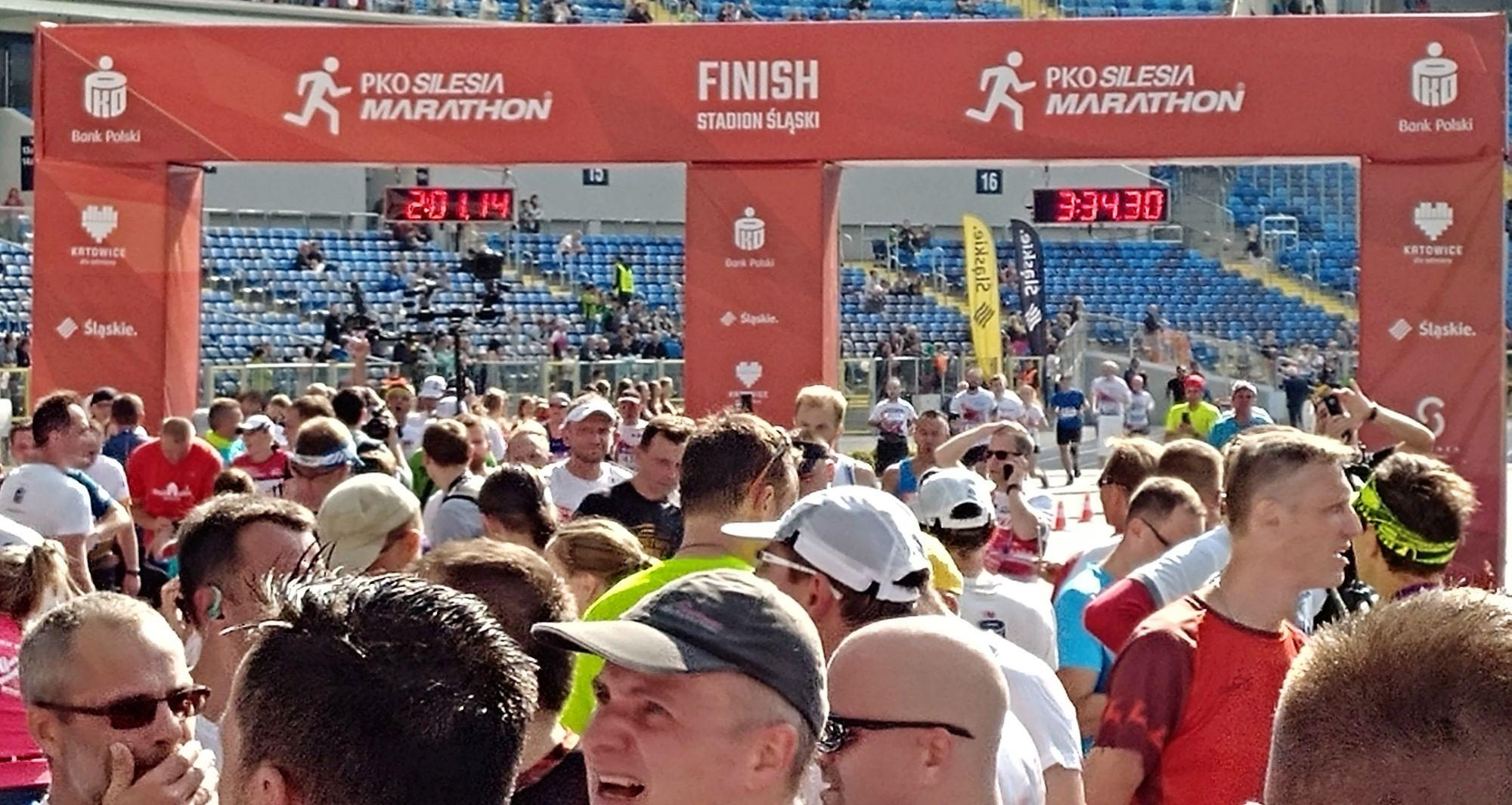PKO Silesia Półmaraton 2017 meta