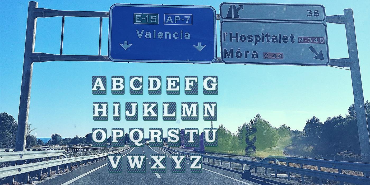 Alfabet maratonu w Walencji