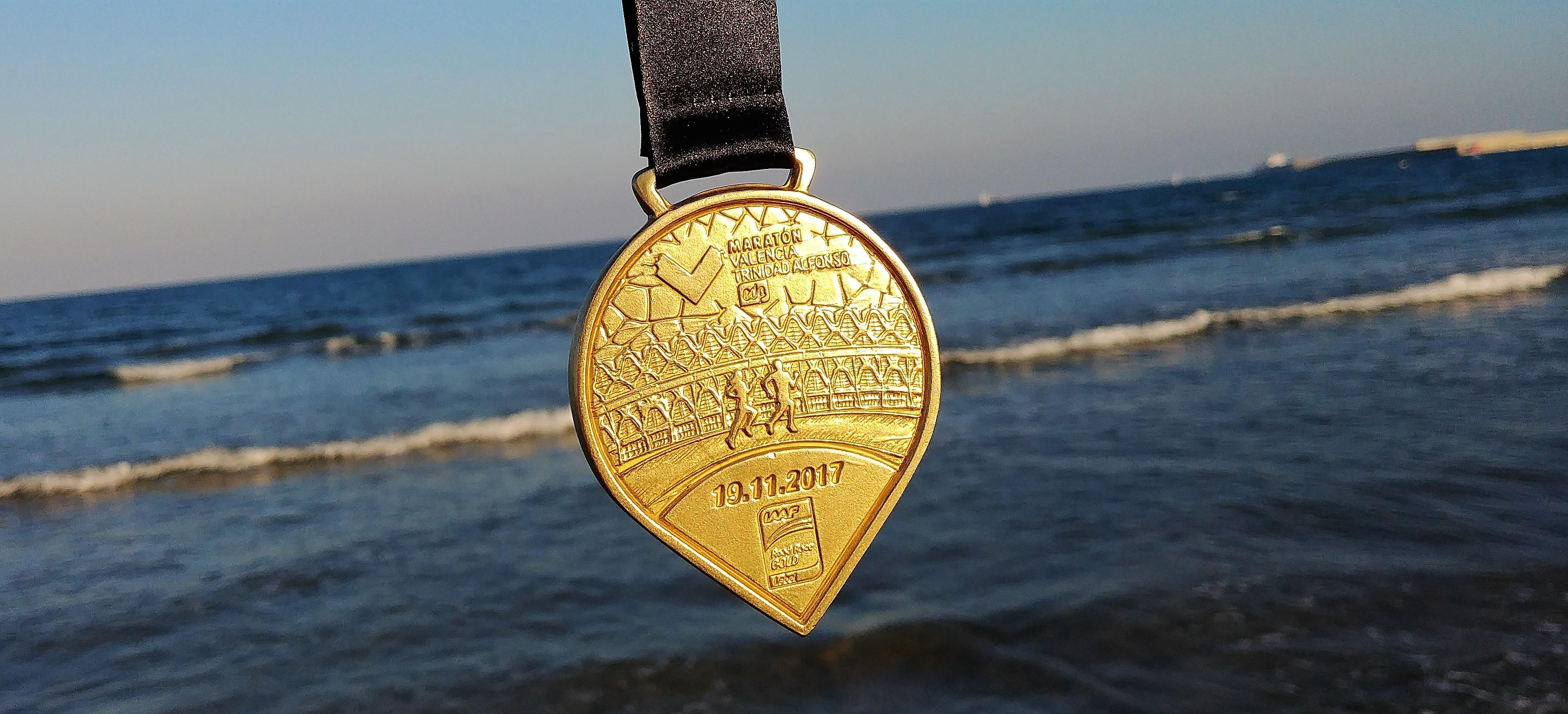 medal maraton Valencia