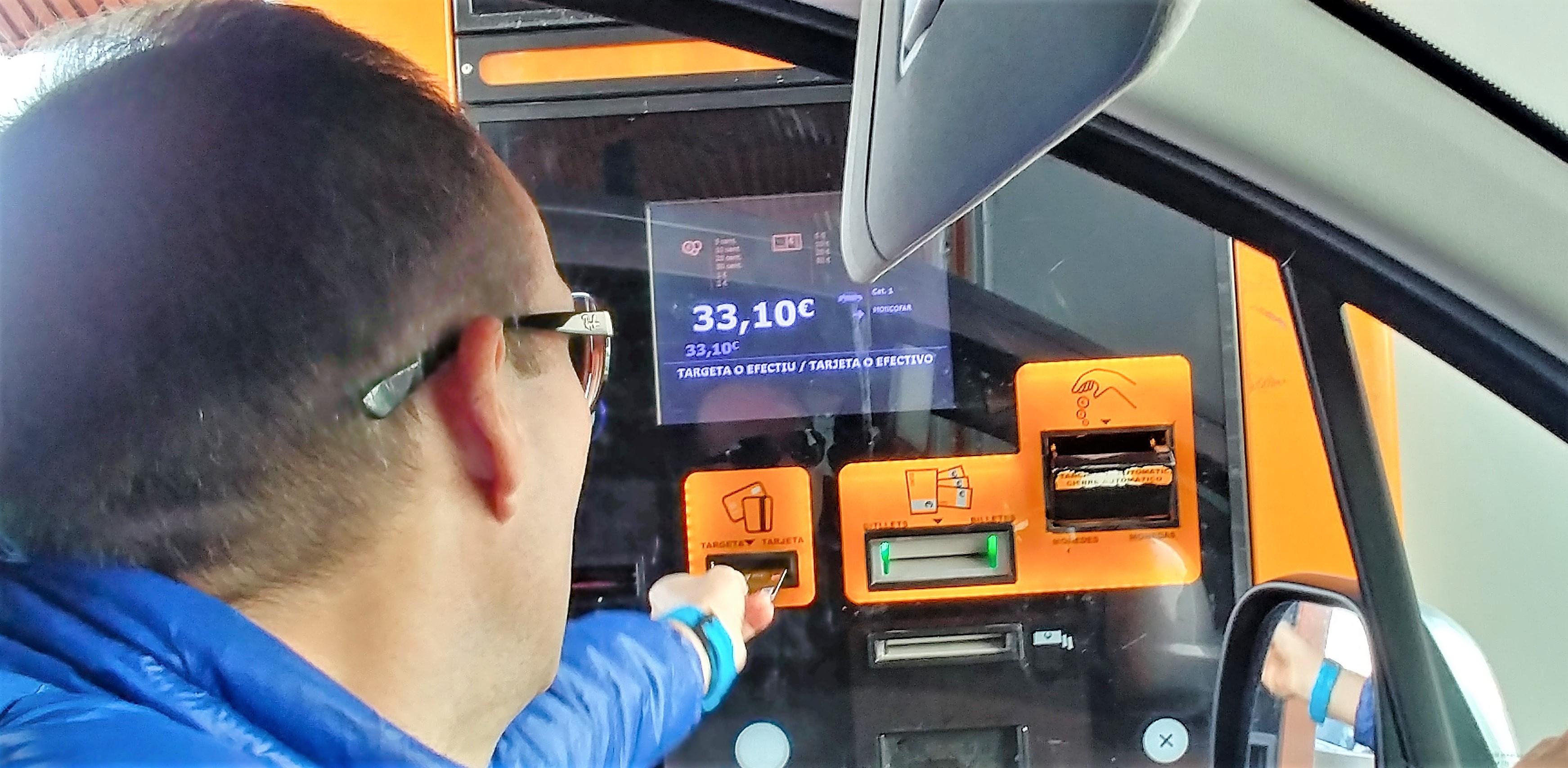 płatność za hiszpańskie autostrady
