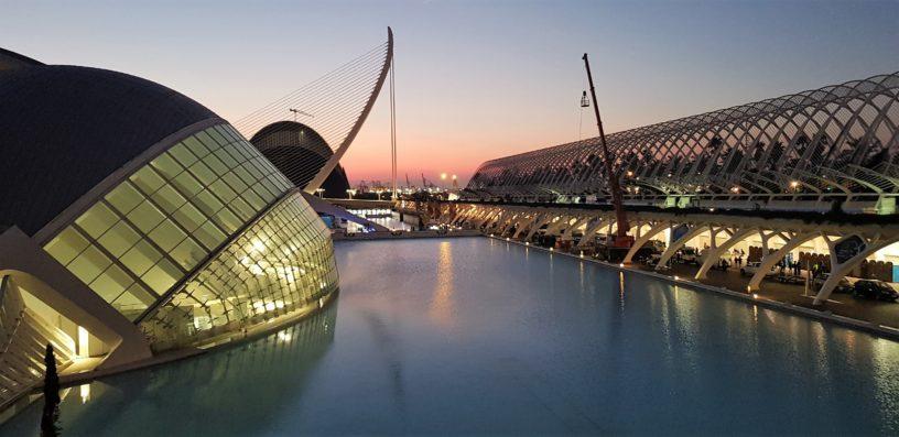 wschód słońca Walencja
