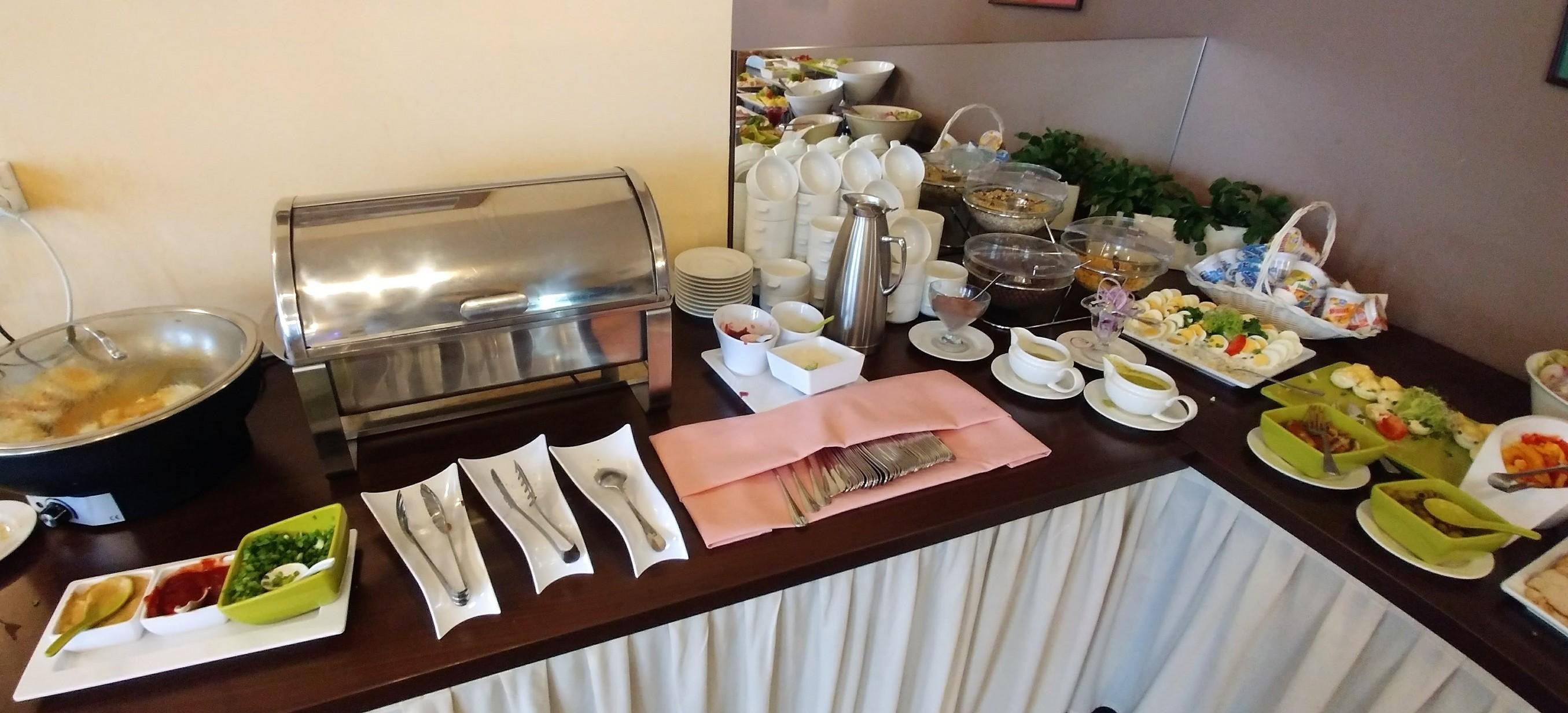 śniadanie hotel Wilga