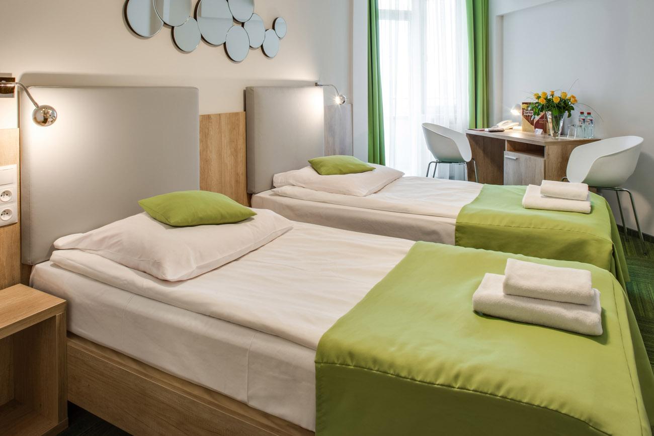 Hotel Wilga wnętrze pokoju