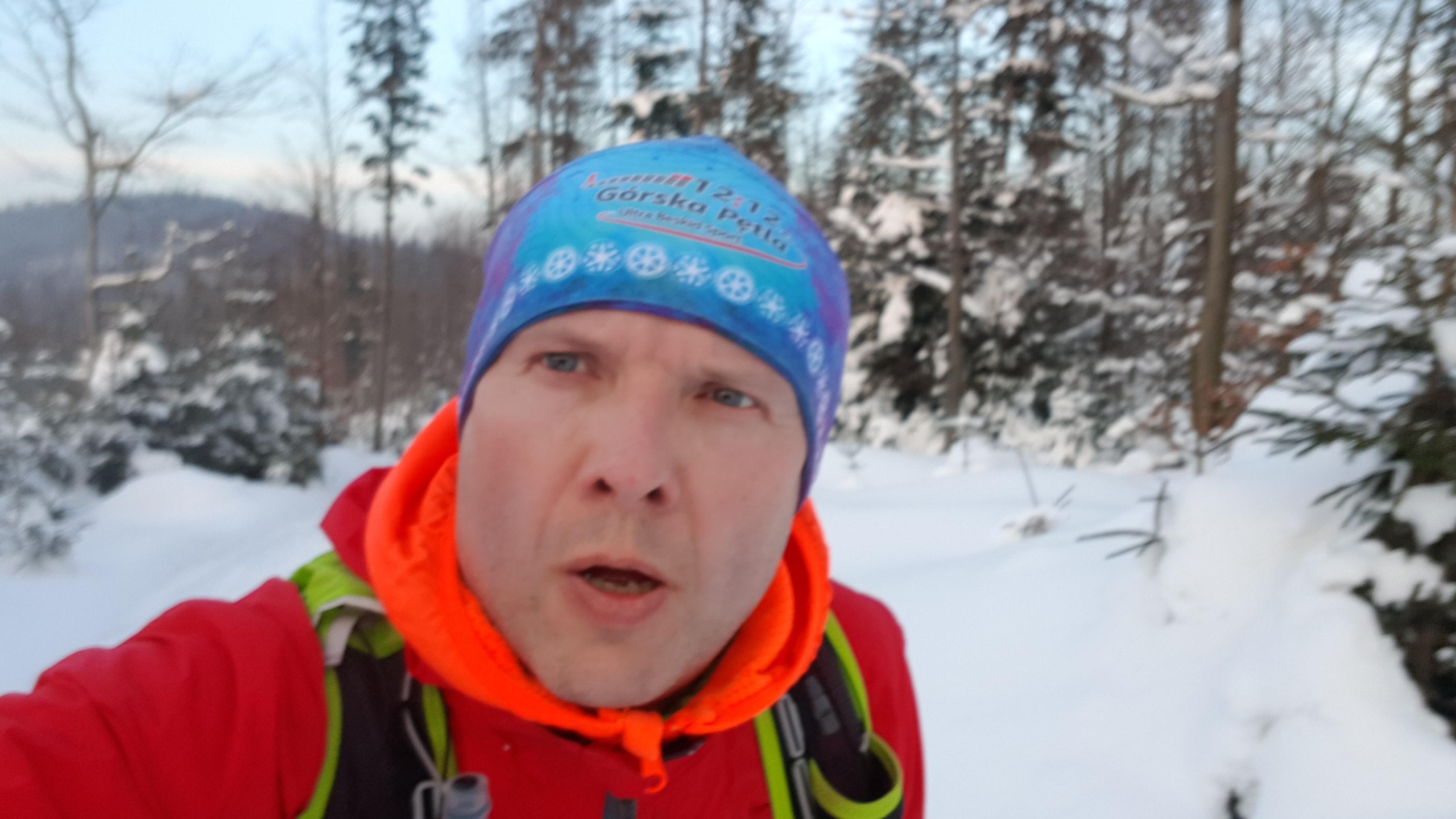 Tomasz na trasie Górskiej Petli UBS