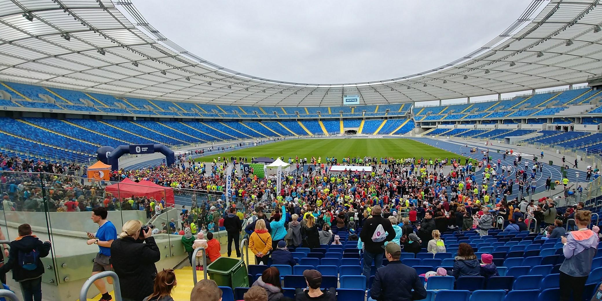 Stadion Śląski relacja z Biegu Wiosennego
