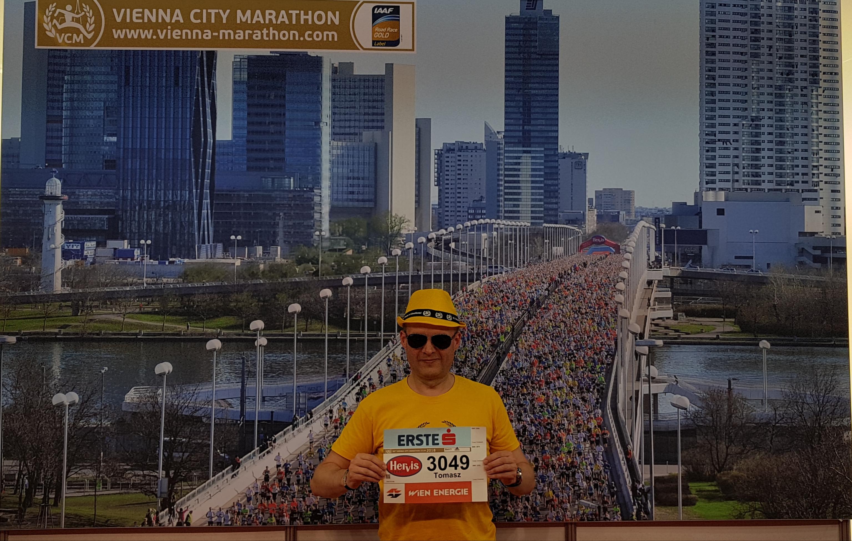 Vienna City Marathon na ściance