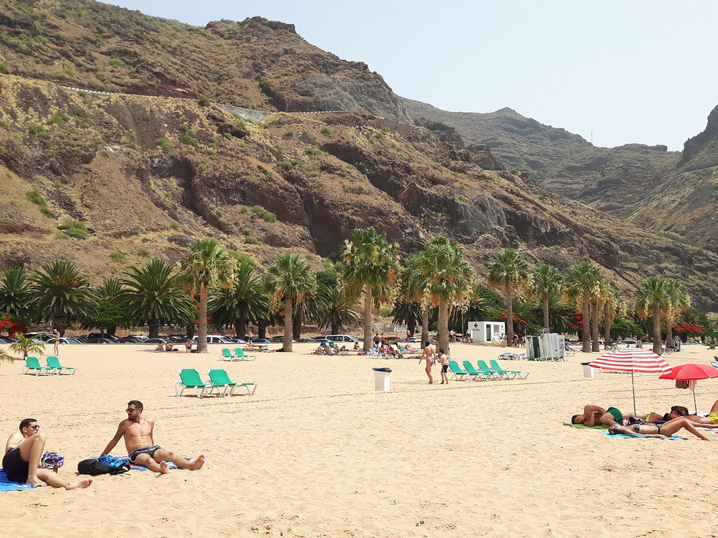 Wyspy Kanaryjskie plaża