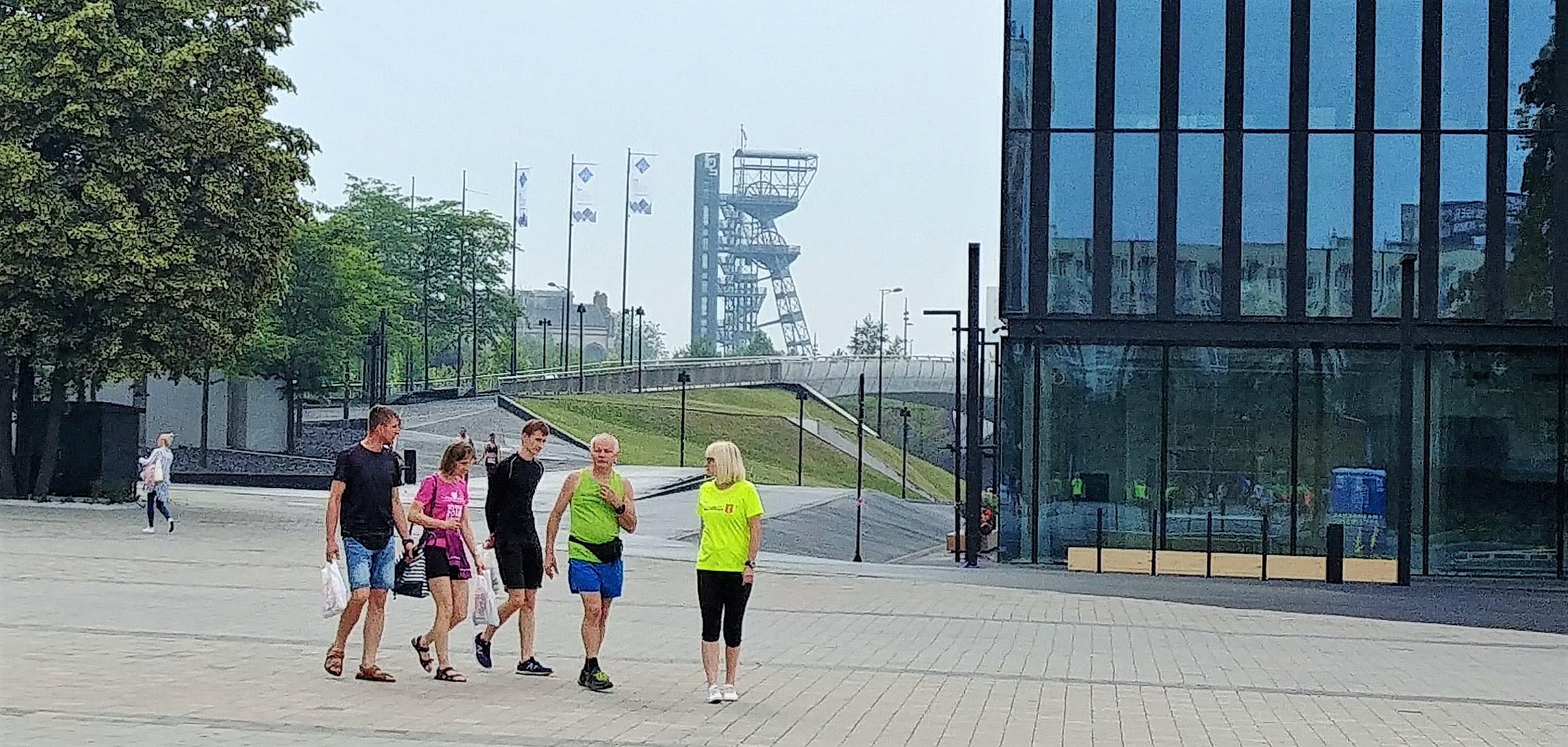 Biegniemy przez Serce Śląska Wizz air Katowice Half Marathon