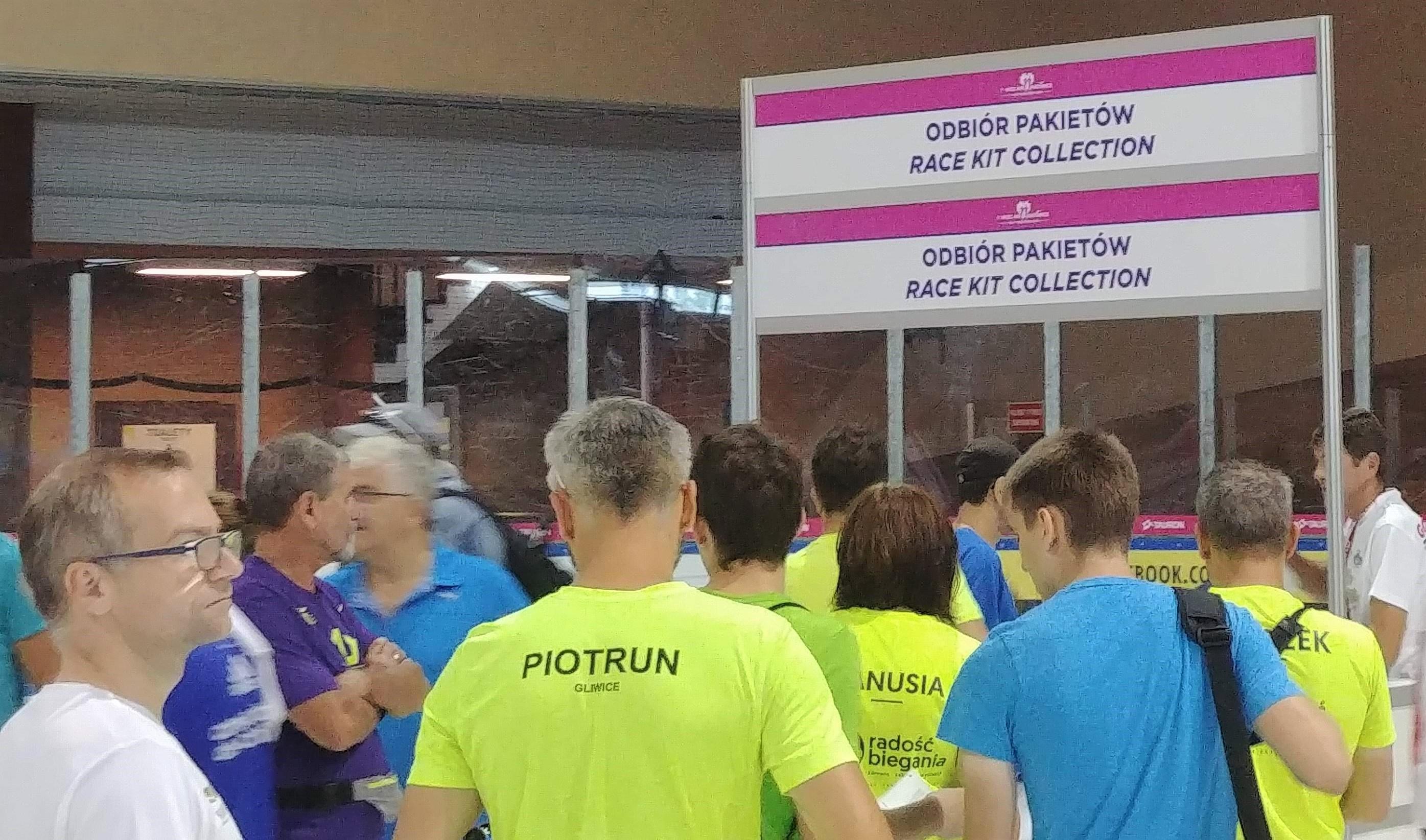 odbiór pakietów Wizz air Katowice Half Marathon