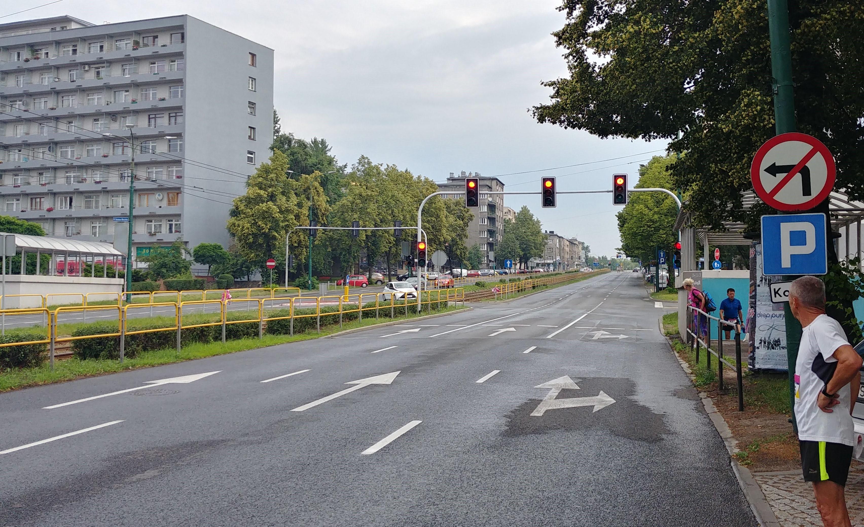 podibeg na Korfantego Wizz air Katowice Half Marathon