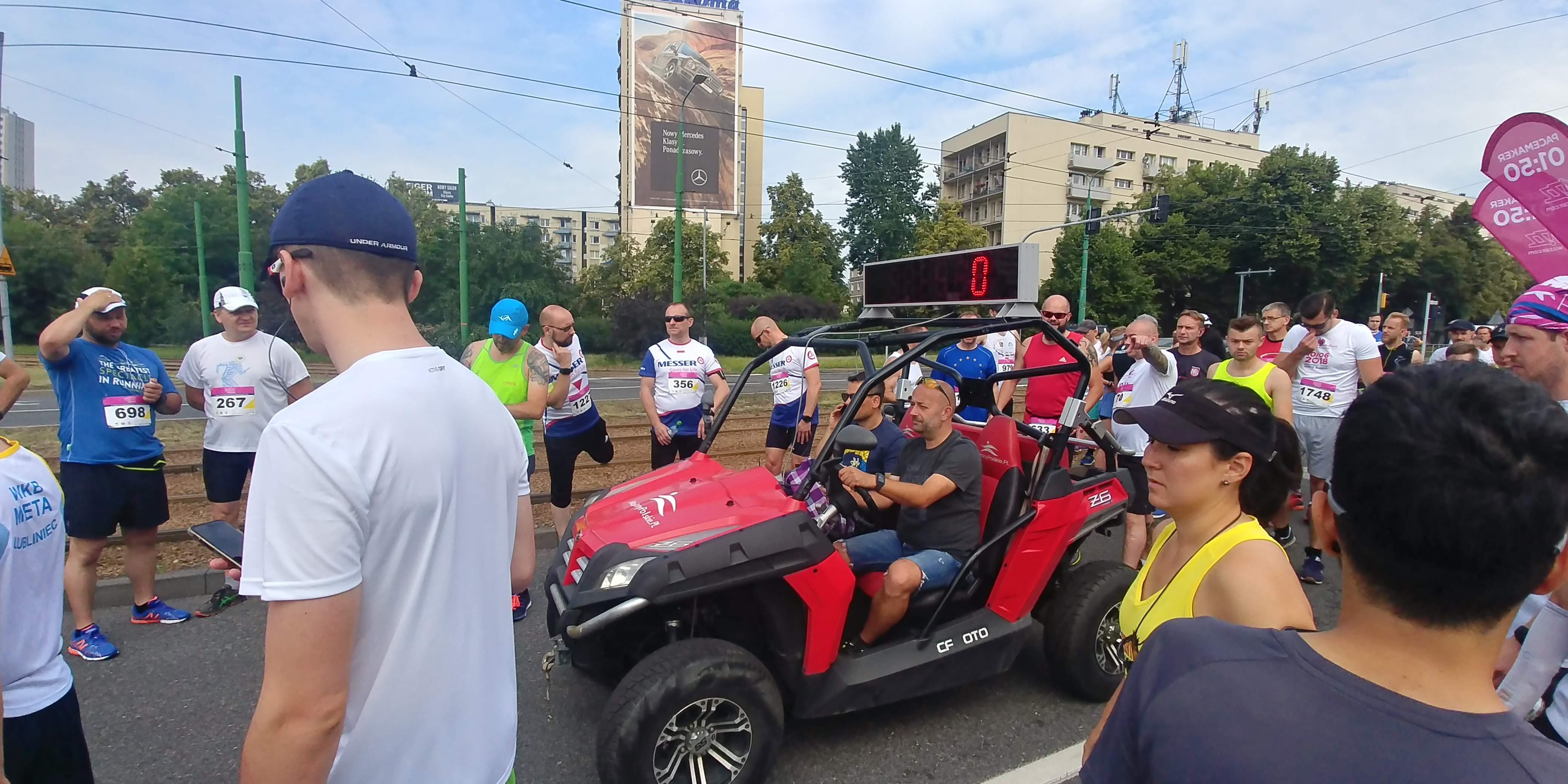 quad przed startem Wizz air Katowice Half Marathon