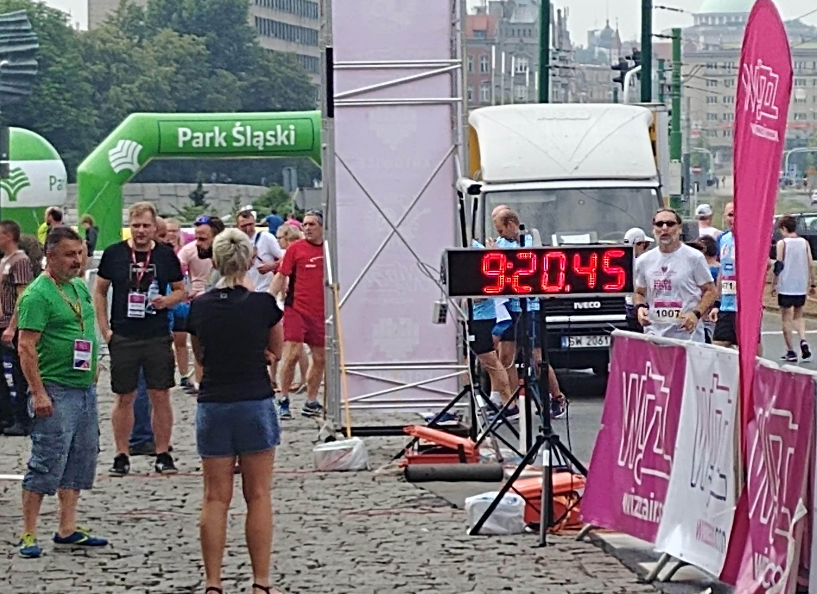 na starcie Wizz air Katowice Half Marathon