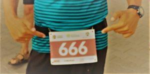 Numer 666 10K Run Series Blachownia