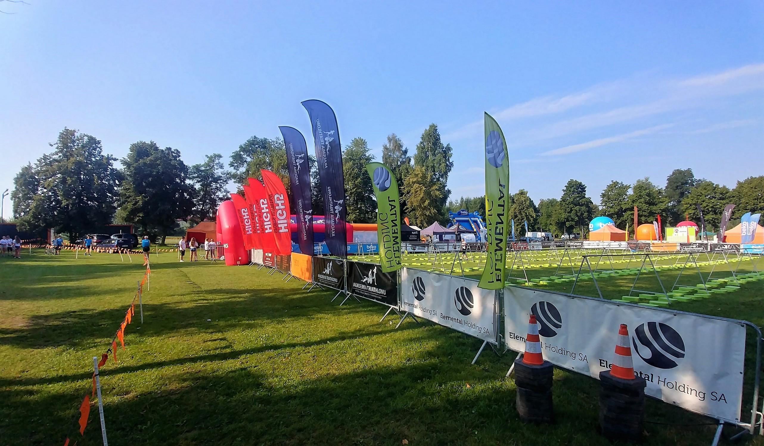 Przed startem 10K Run Series Blachownia