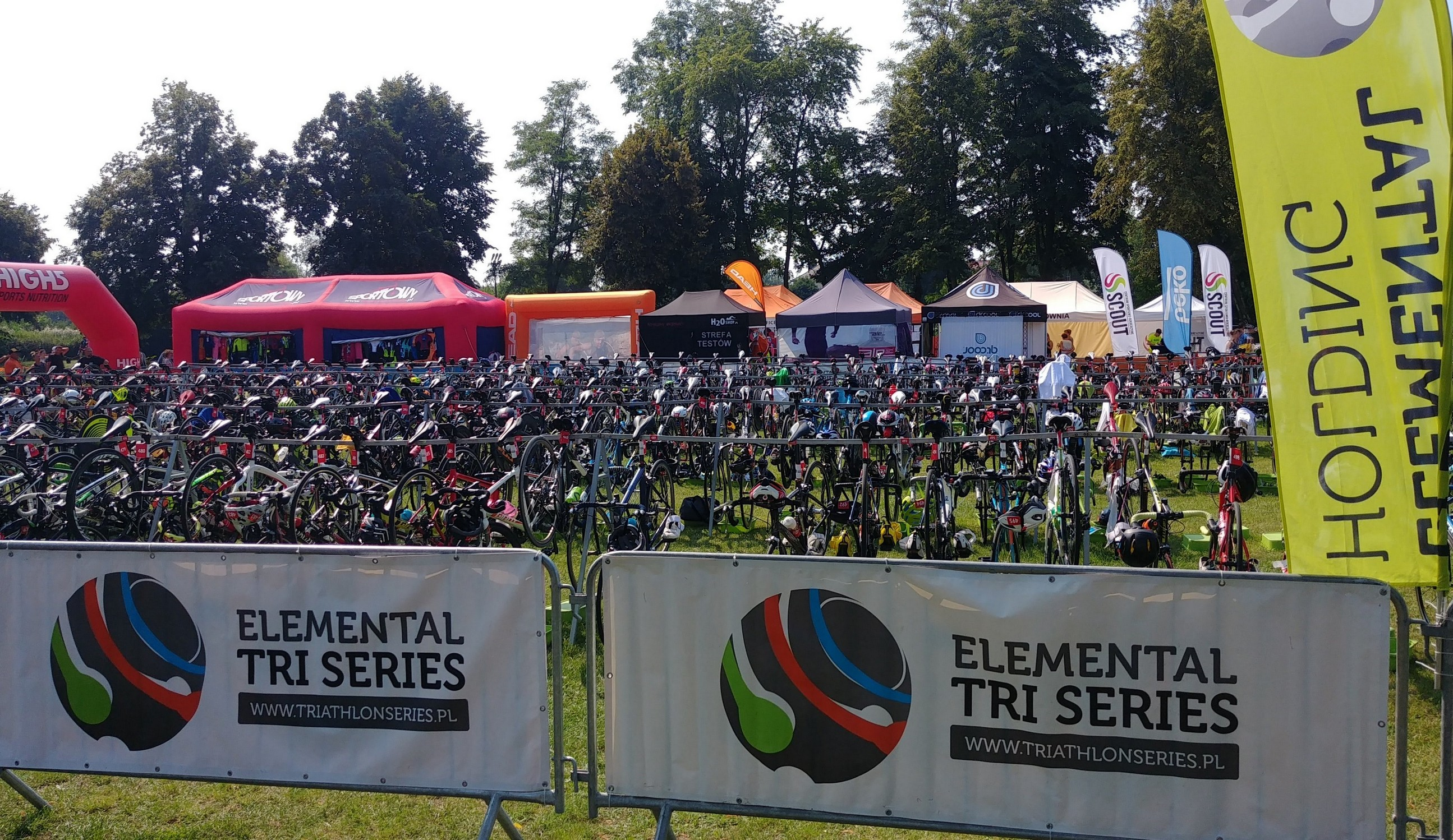 park rowerów 10K Run Series Blachownia