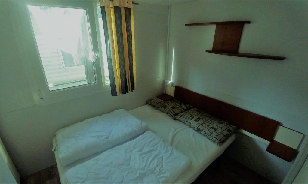 sypialnia w mobile home