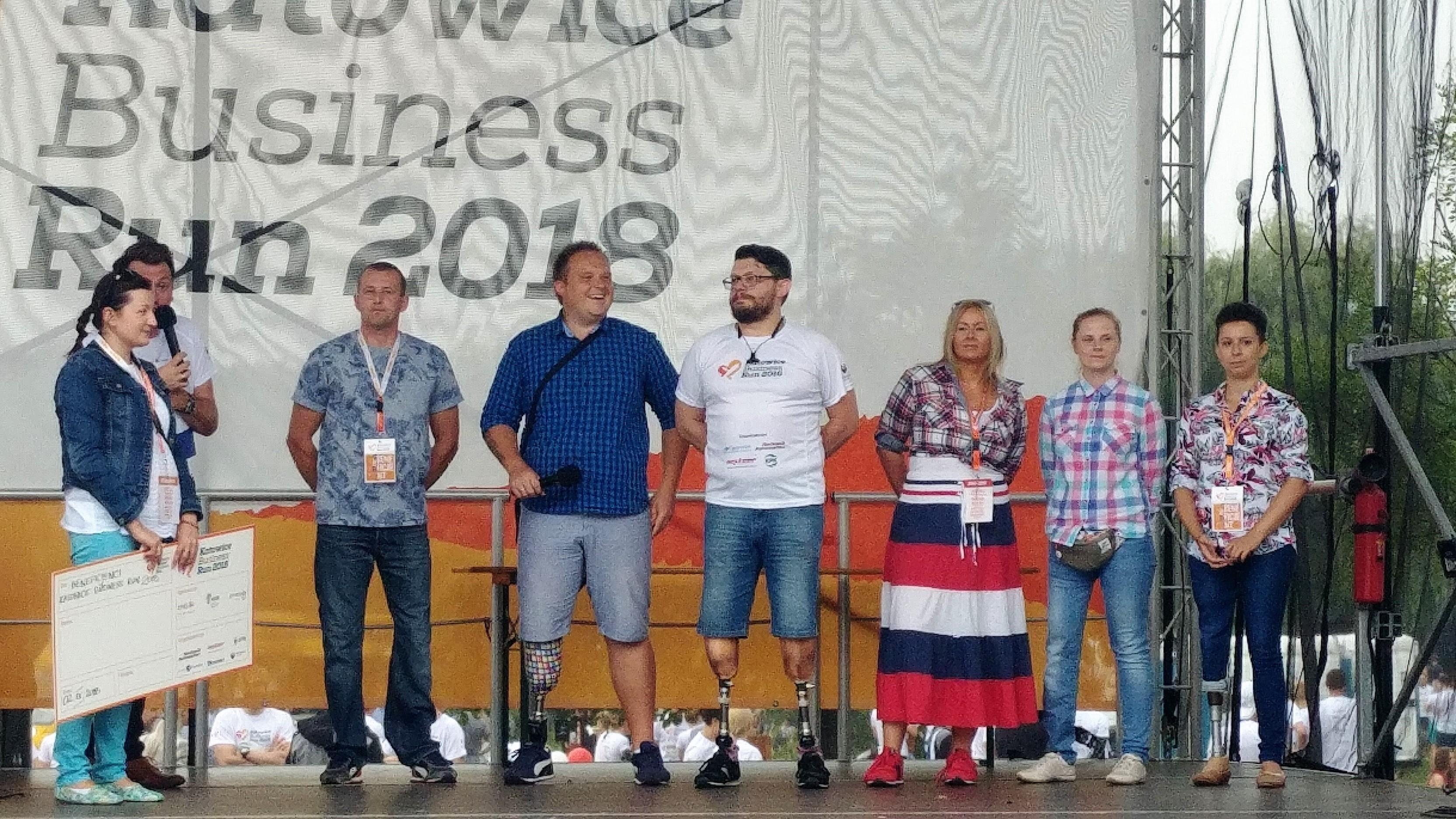 beneficjenci Katowice Business Run