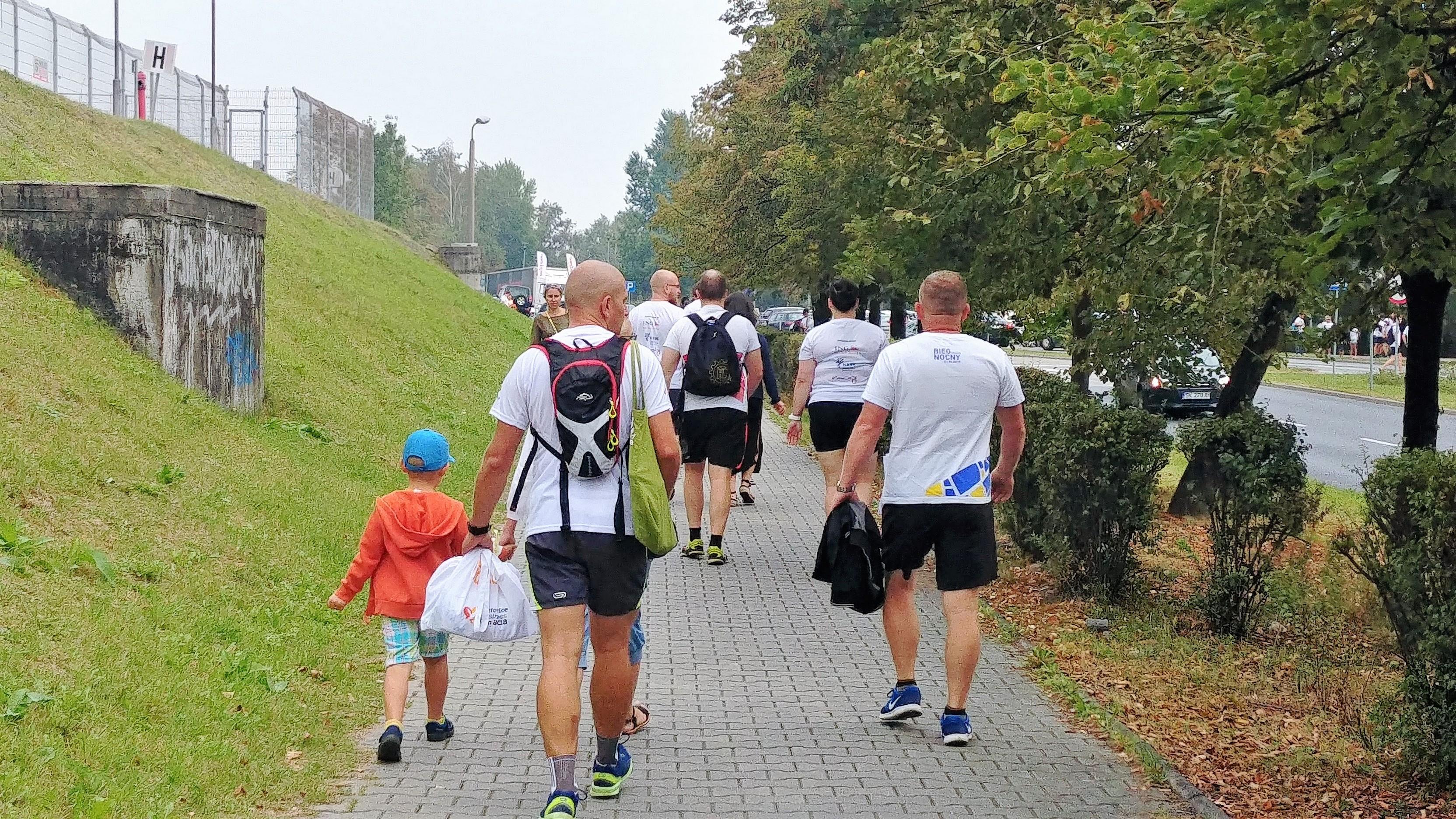 w drodze na Katowice business Run