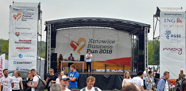 scena Katowice Business Run