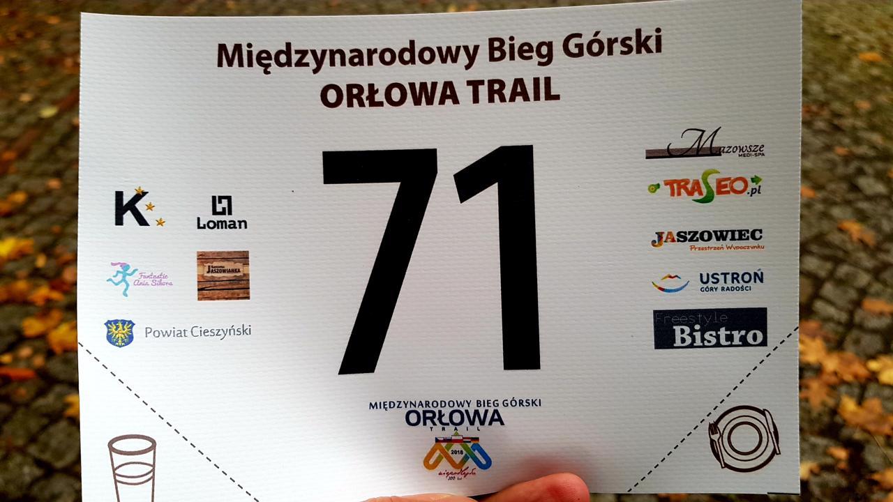numer Orłowa trail