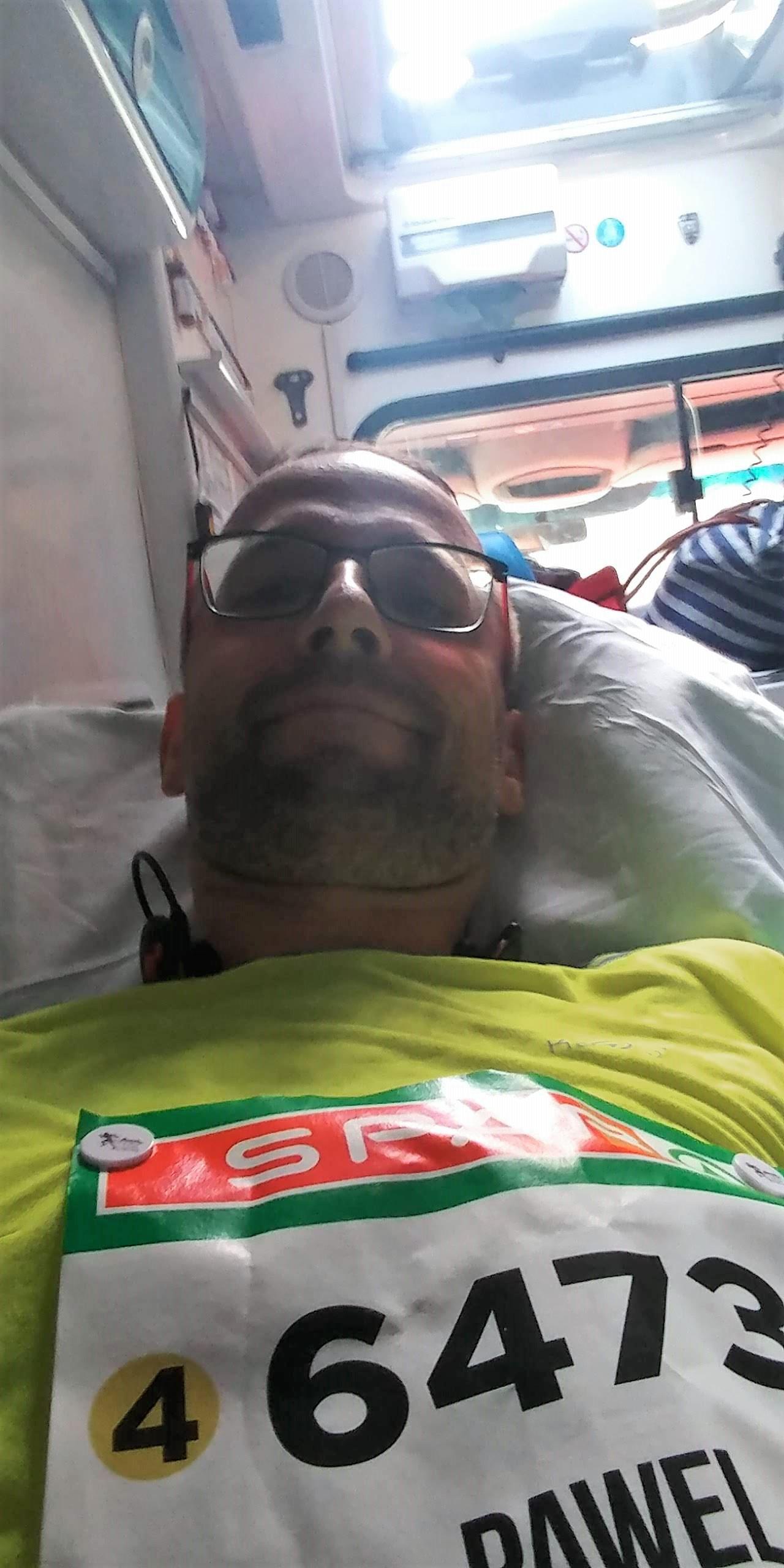W ambulansie