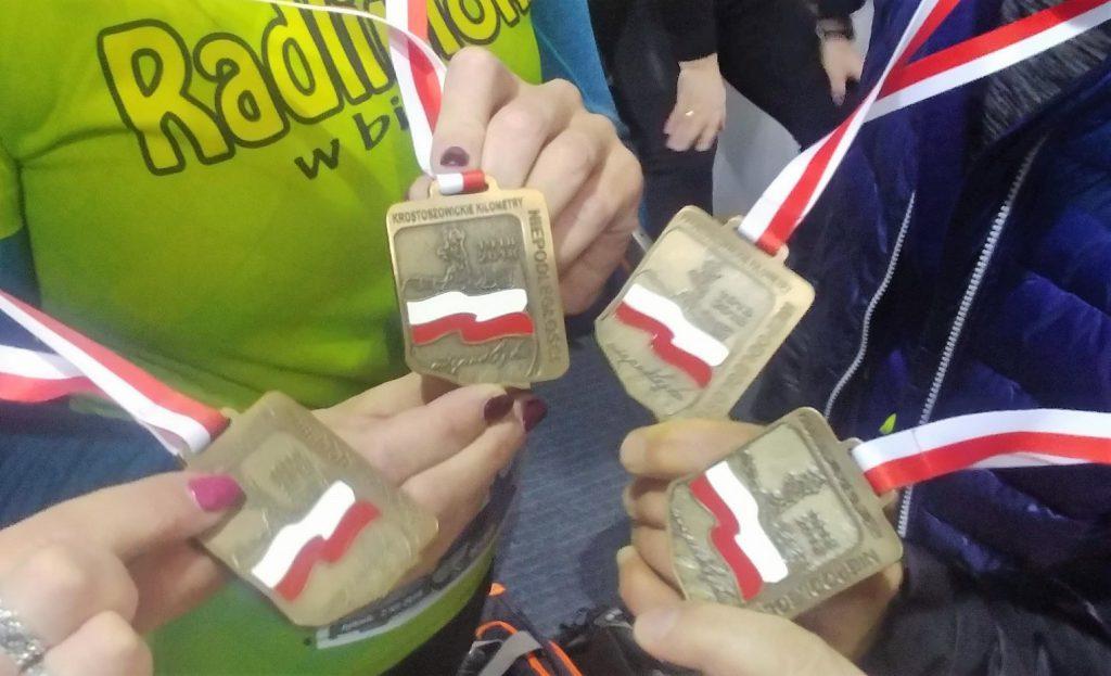 Medale Radlinioki w biegu