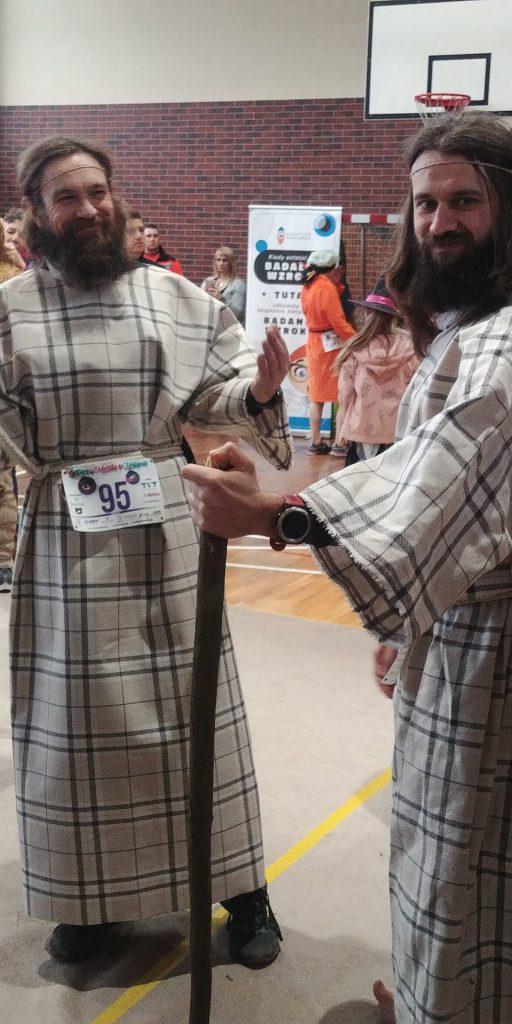 przebranie druidów Bieg po Moczkę i Makówki
